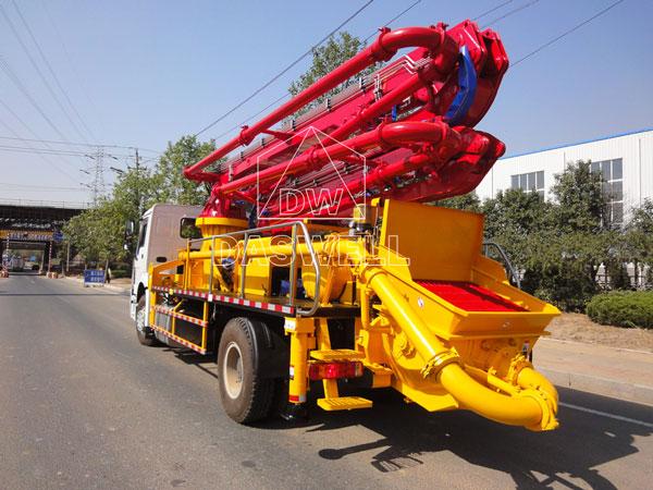 29m boom pump truck machine