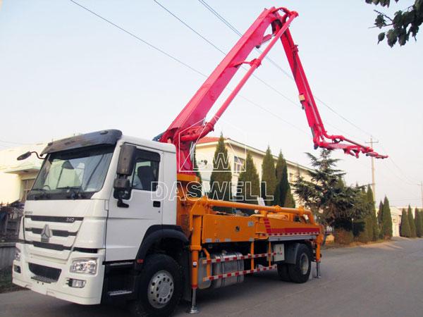 29m concrete boom truck