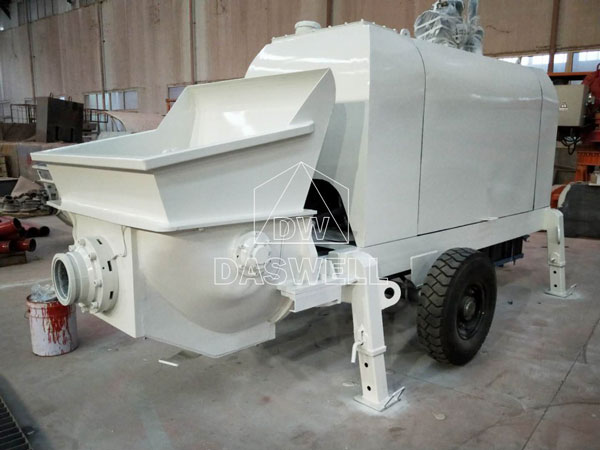 CPD40 small trailer pump machine to Vanuatu