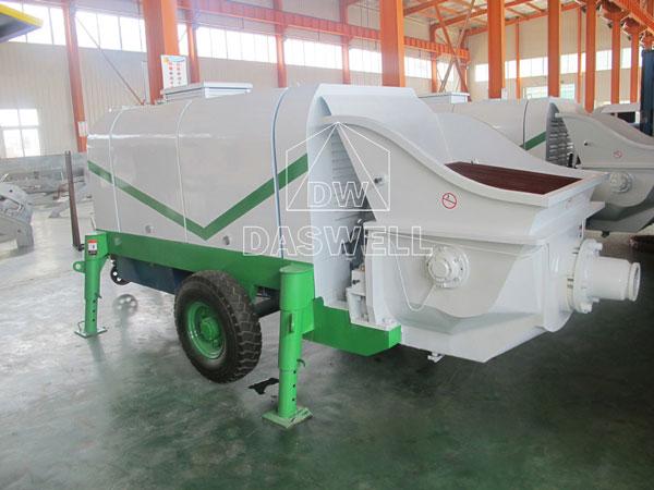 CPD40 trailer concrete pump for sale
