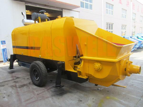 CPD60 trailer mounted pump machine