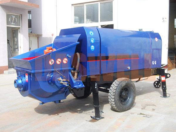 CPE30 concrete trailer pump