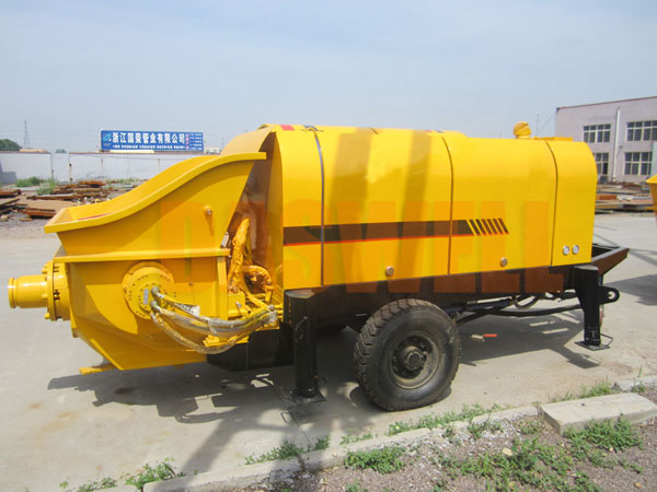 CPE60 concrete trailer pump sale