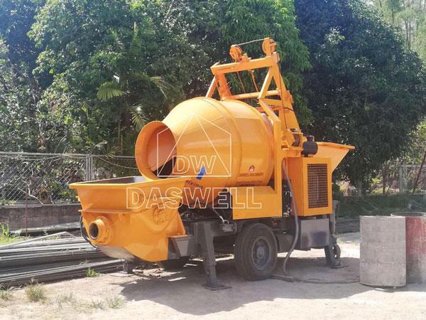 DHBT40 small concrete pumps sale