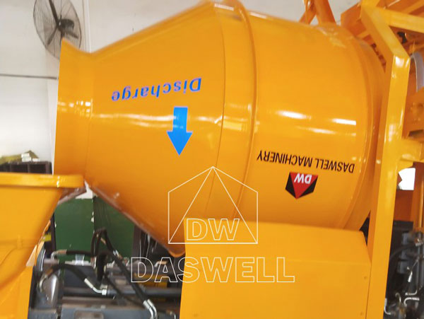 DHBT40 the mixer drum of mixer pump