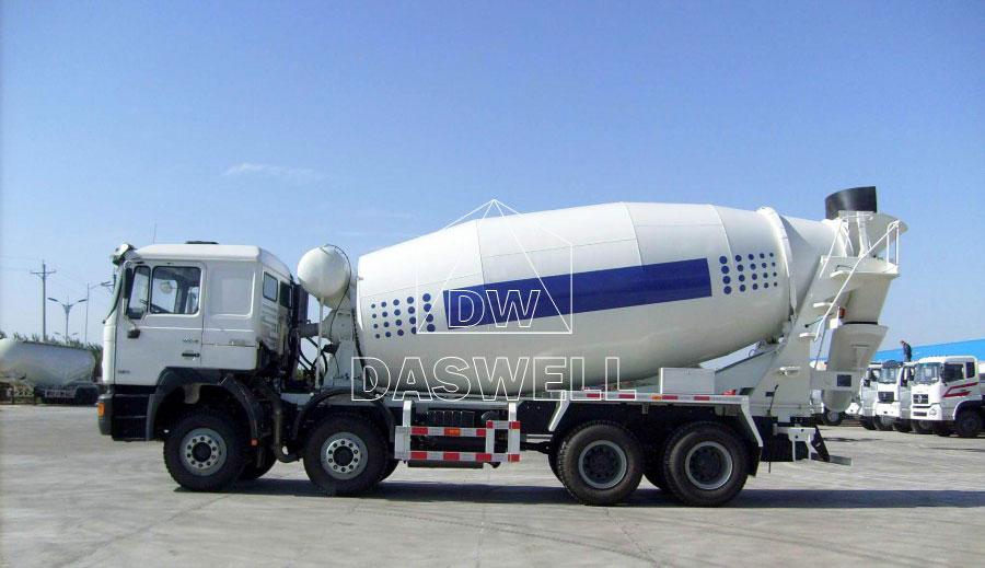 DW-10 concrete mixer truck for sale