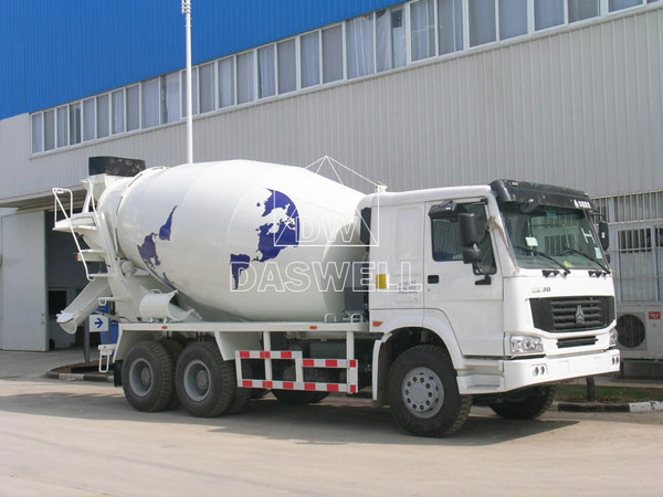 DW-10 concrete mixing truck for sale