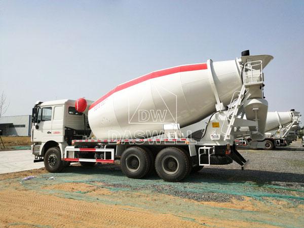 DW-12 mixer truck for concrete
