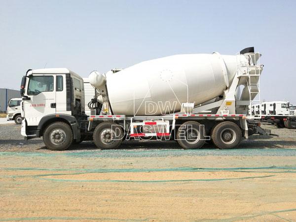 DW-14 agitator truck machine