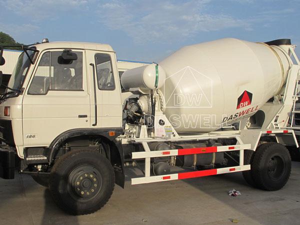 DW-3 concrete mixing truck