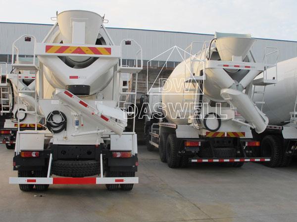 DW-3 small mixing truck machine