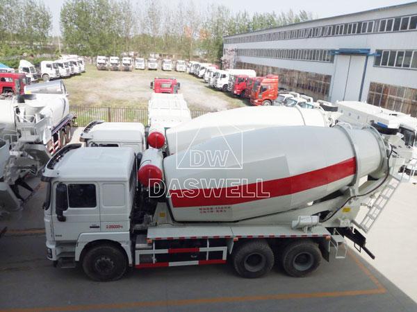 DW-4 small concrete mixture