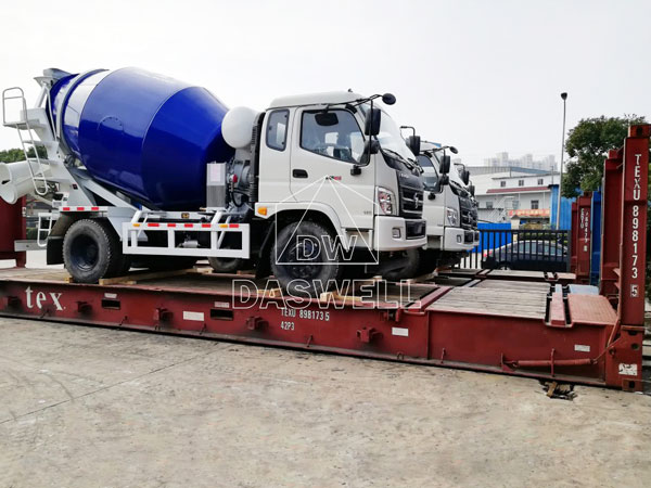 DW-4 transport to Philipines