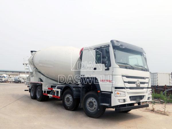 DW-5 concrete mixer truck