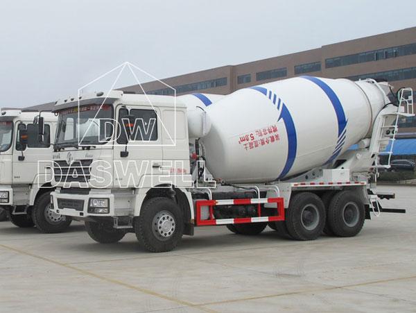 DW-5 concrete truck