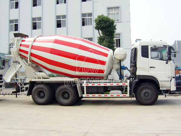 DW-6 concrete mixing truck