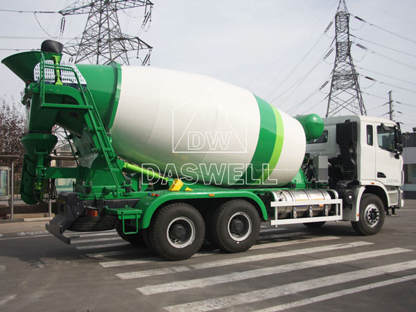 DW-8 concrete truck for sale