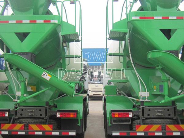 DW-8 mixing truck