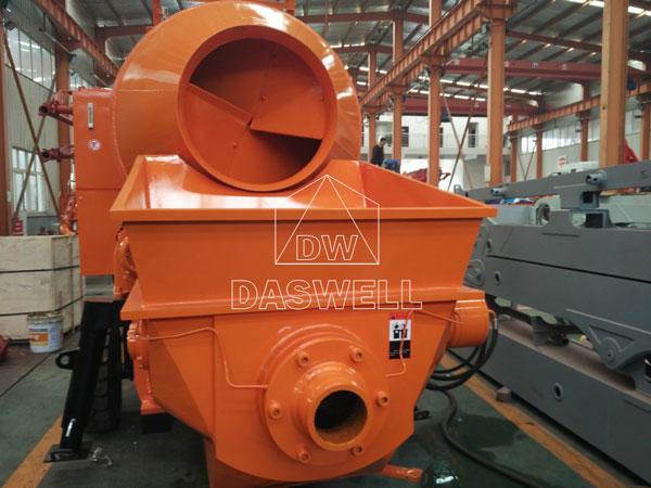 HBT30 concrete mixing pump