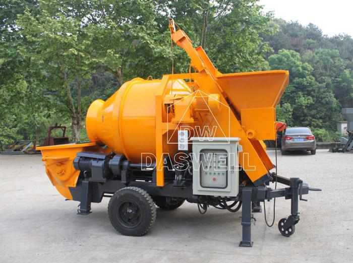 HBT40 concrete pump home page