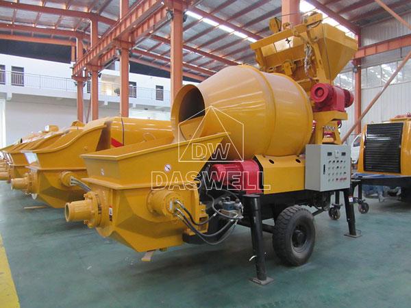 HBT40 daswell mixer pump for concrete