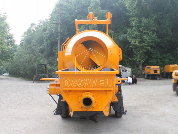HBT40 small concrete pumps sale