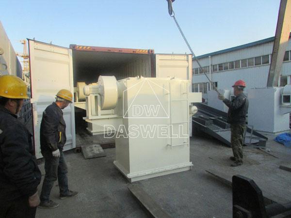 HZS180 ready mix concrete machine