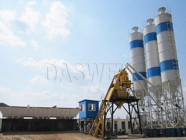 HZS50 stationary batching plant