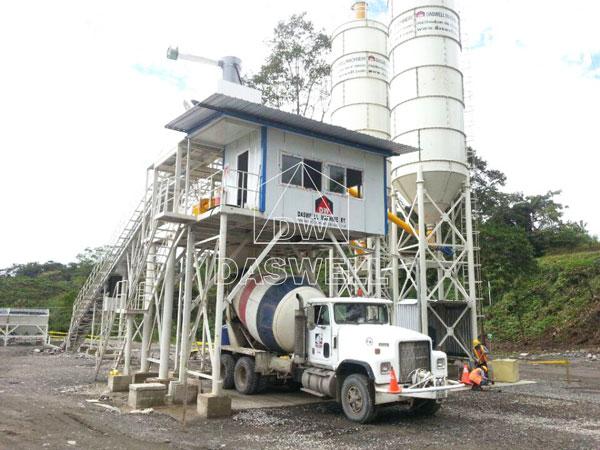 HZS90 plant in Ecuador