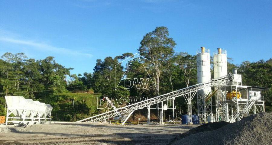 HZS90 ready plant in Ecuador