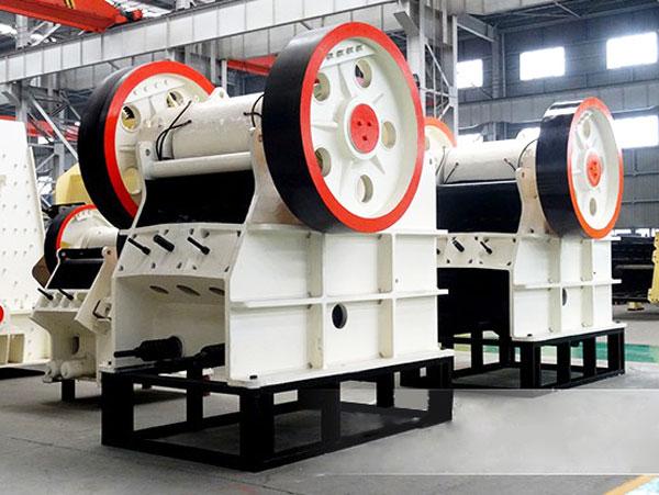PE900×1200 jaw crushing machine