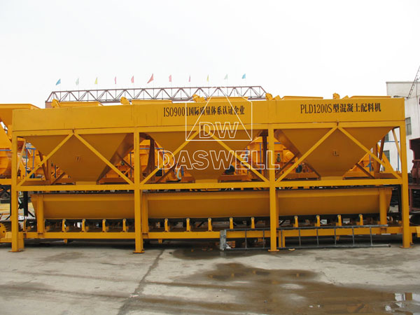 PLD1200 aggregate batching machine for ready mix plant
