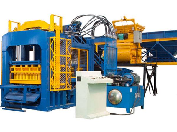 QT10-15 hollow block making machines