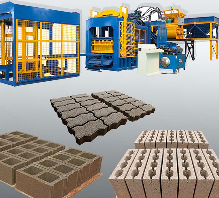 QT12-15 brick machines for sale