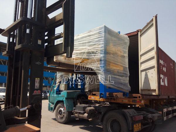 QT4-15 hollow brick block machine