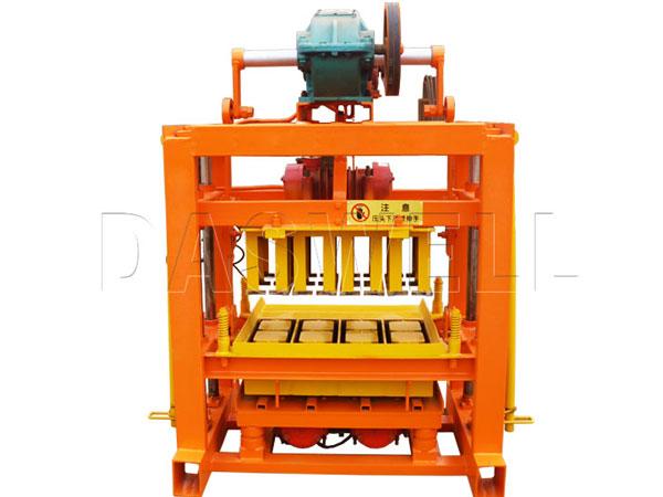 QTJ4-40B hollow brick block machine