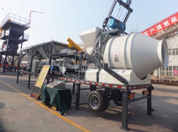 YHZM25 mobile portable plant
