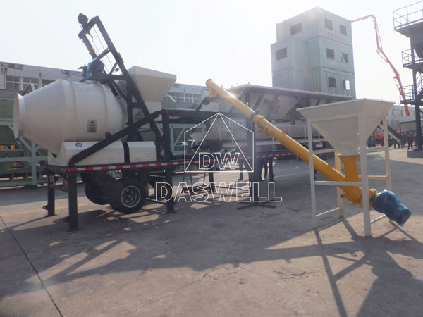 YHZS25A mobile plant