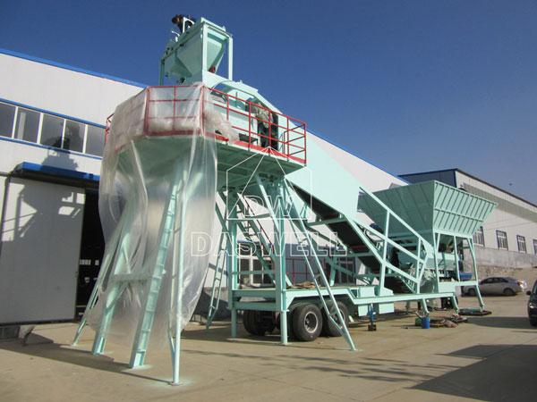 YHZS35 readymix plant machine