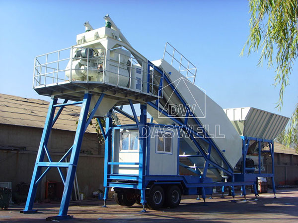 YHZS50 ready mix plant for sale