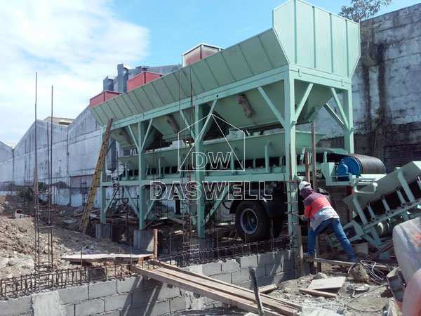 batching machine for small concrete batching plant