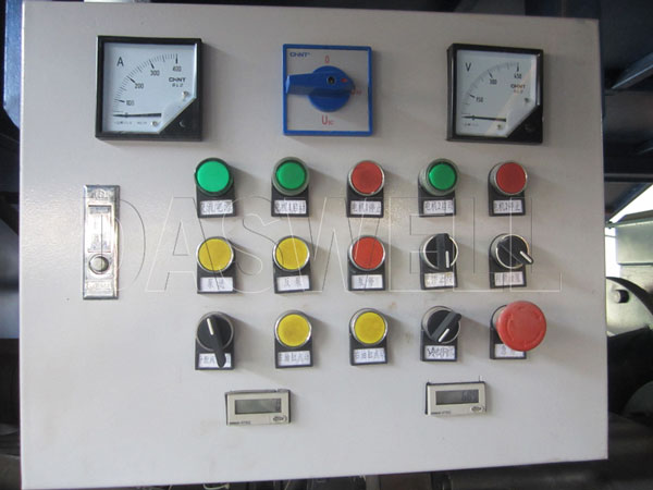 control cpanel of small pump for sale