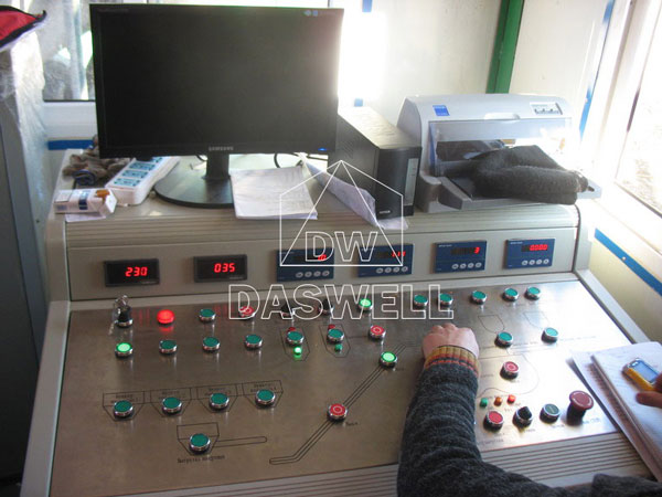 control system of the YHZS35