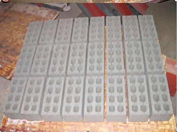 final concrete blocks