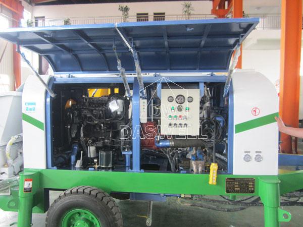 internal structure of trailer pump