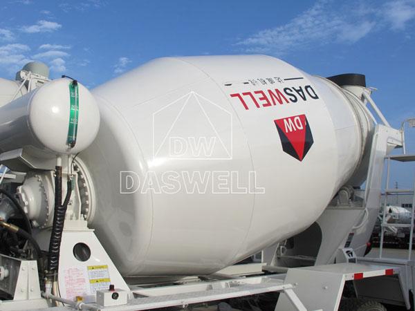 mixer drum of concrete transit mixer