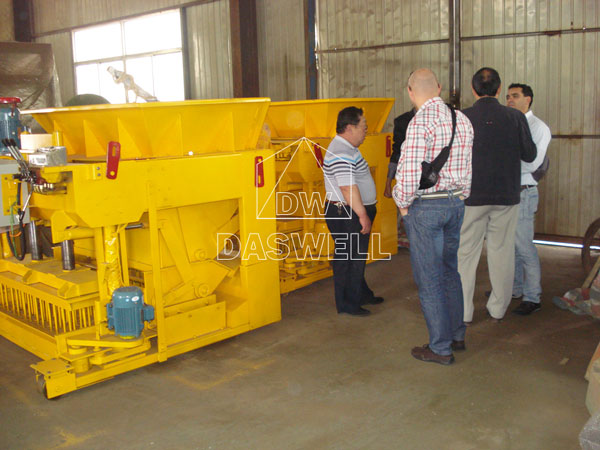 our customer visits factory