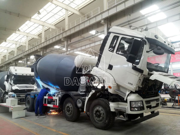 production factory for small truck