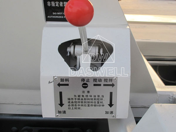 the operating lever for small truck