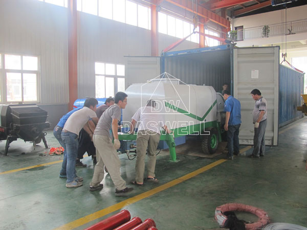 transport CPD40 pump To Vietnam